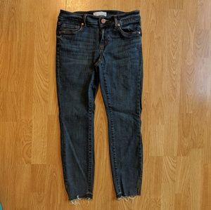 ❗SALE❗Loft Curvy Slit cut jeans